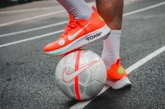 low priced 0b0a0 ec563 Get The OFF-WHITE x Nike Zoom Fly Mercurial Flyknit Total Orange Now Nike  Zoom