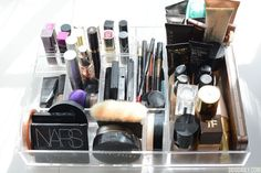 Learn how to organise your make up on www.ddgdaily.com