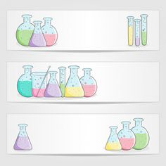 Use chemistry images to decorate your science classroom this school year! This set of beaker banners is perfect to use as labels for desks or equipment.