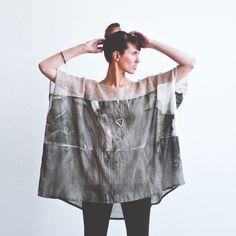 martha w mcquade / knit/silk tunic