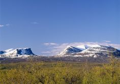 Lapporten in Abisko, Swedish Lapland
