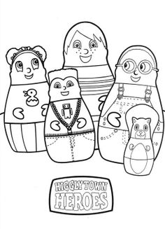 1000 images about higglytown heroes on pinterest heroes for Higglytown heroes coloring pages