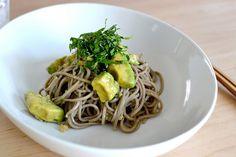 Recipe: Avocado Walnut Soba Salad