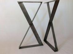 """X-Frame metalen tafelpoten - 26"""" breedte, hoogte 26"""""""