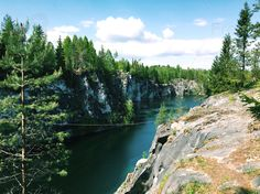 Ruskeala, Karelia, Russia. #Russia #Karelia #Ruskeala #landscape #canyon #freelancer #freelancediscount #freelancecreative