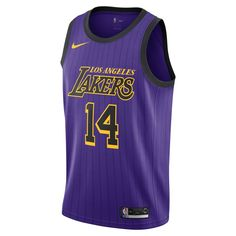 b8851ee69ce Brandon Ingram City Edition Swingman (Los Angeles Lakers) Men s Nike NBA  Connected Jersey Size S (Field Purple)