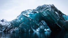 flipped iceberg in Antarctica - How I Got to See an Upside-Down Iceberg — Gone — Medium