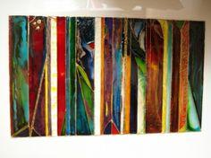 TABLEAU PEINTURE Abstrait  - Bako