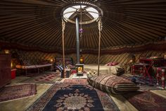 Sawday's Canopy & Stars is a great collection of treehouses, yurts, cabins, Gypsy caravans and other outdoor, glamping places in the UK and Europe. Ancient English, Yurt Living, Canopy And Stars, Canvas Tent, Eclectic Modern, Forest Garden, Sustainable Living, Savannah Chat, Life Is Good