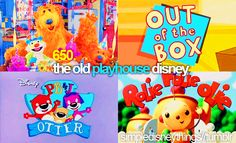 I remember watching and yes...loving these shows with my kid siblings...I even remember the songs!