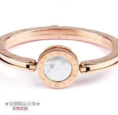 Bvlgari Bzero1 Bracelet in 18kt Pink Gold with Mother of Pearl
