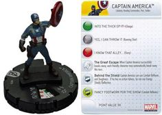 Captain America #018 Marvel Avengers Movie Heroclix