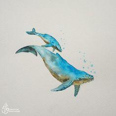 푸른바다를 닮은 고래 좋은주인을 기다립니다:) Waitng for good person #고래 #고래타투 #타투도안 #타투디자인 #디자인…