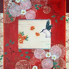 Kathe Fraga Art, inspired by the romance of vintage French wallpapers and…