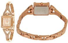 GUESS U0137L3 Rose Gold-Tone Retro Glamour Watch  #ceasuriguess #ceasurioriginaleguess #ceasuriguesspreturi Guess, Rose Gold, Glamour, Watches, Retro, Top, Accessories, Wristwatches, Clocks