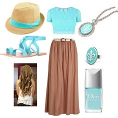 """""""AquA"""" by allyclaire on Polyvore"""