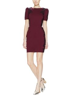 Versailles Embroidered Sheath Dress from Dress Shop: Special Occasion Dresses on Gilt