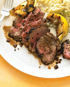 """See the """"Spiced Butterflied Leg of Lamb"""" in our Grilling Recipes gallery"""