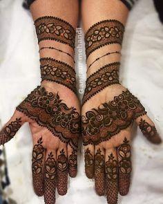Rajasthani full hand mehndi designs for Gangaur Festival Rajasthani Mehndi Designs, Dulhan Mehndi Designs, Mehendi, Henna Mehndi, Arabic Mehndi, Henna Tattoos, Foot Henna, Henna Art, Mehndi Tattoo