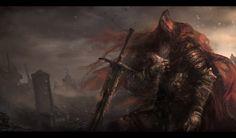 s Actually Finish Dark Souls Uncle Gael Final Fight Dark Souls 3, Arte Dark Souls, Demon's Souls, Soul Asylum, Creepy, Bloodborne, Soul Art, Dark Fantasy Art, Medieval Fantasy