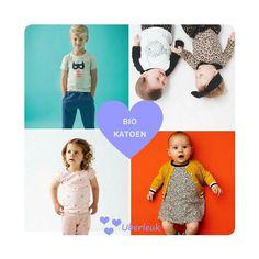 Veel van onze merken maken gebruik  van biologische katoen en dat zijn echt geen geitenwollensokken- kleren meer hoor! ;-)
