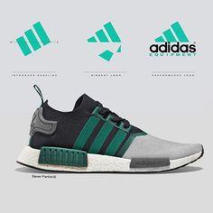 """Concept Design: Adidas Originals NMD """"EQT"""""""