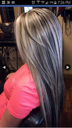 Hair Color Blonde Platinum Haircolor 61 Ideas For 2019 Pretty Hairstyles, Straight Hairstyles, Grunge Hairstyles, Hair Color And Cut, Blonde Color, Grey Blonde, Blonde Balayage, Silver Hair, Hair Highlights