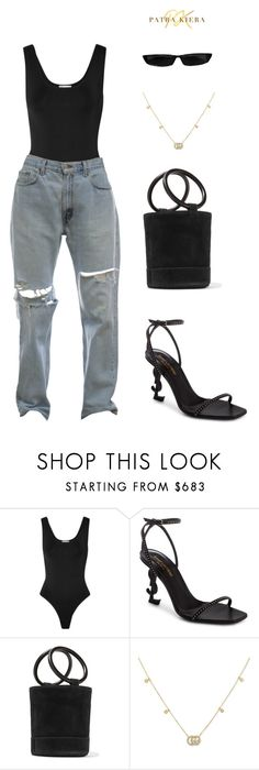 """""""Untitled #21"""" by patrakiera on Polyvore featuring Casasola, Yves Saint Laurent, Simon Miller and Gucci"""