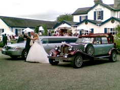 Modern wedding car hire louth for the very best in vintage wedding cars kildare cavan westmeath wedding limousines akp chauffeur drive