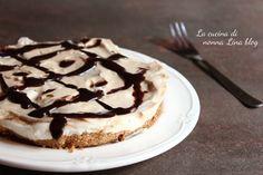 CHEESECAKE AL CAFFE' SENZA COTTURA #cheesecake #caffè
