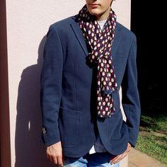 Bufanda hombre edición limitada, pieza única Suit Jacket, Breast, Blazer, Suits, Jackets, Women, Fashion, Men, Down Jackets