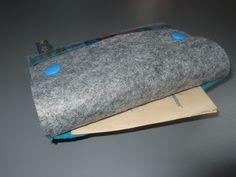 Filztasche für UNO-Karten mit Fach für die Anleitung Bags, Felting, Tutorials, Cards, Handbags, Bag, Totes, Hand Bags