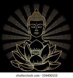 Budha Painting, Madhubani Painting, Dot Art Painting, Mandala Painting, Mandala Drawing, Buddha Drawing, Buddha Artwork, Mandala Art Lesson, Madhubani Art