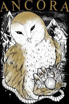 Artic Owl . Banda Âncora