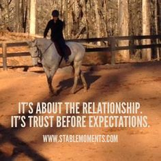It's all about the relationship with #foster and #adopted kids as well as #horses. #horse #quotes #horsequotes #therapeuticparenting #parenting #adoption