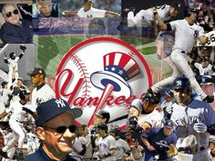 NY Yankees Stars Screensavers This fantastic NY Yankees Stars Screensaver offers you excellent photos of the well-known baseball players representing one of the most famous baseball teams in the world. Yankees Baby, Yankees Team, Yankees Logo, New York Yankees Baseball, Baseball Today, Yankees Pictures, Red Sox Nation, Derek Jeter, Amor