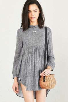 Cooperative Bree Babydoll Tunic Top - Urban Outfitters