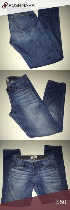 Paige Jimmy Jimmy Crop EUC Size 24 Paige Jimmy Jimmy Crop EUC Size 24 PAIGE Jeans Ankle & Cropped