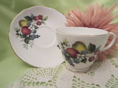 Duchess Tea Cup by MemaAntiques on Etsy