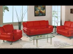 Looking for Global Furniture USA 3 Pc Upholstered Bonded Leather Living Room Set w Chrome Base ? Check out our picks for the Global Furniture USA 3 Pc Upholstered Bonded Leather Living Room Set w Chrome Base from the popular stores - all in one. Red Living Room Set, Leather Living Room Set, Leather Living Room Furniture, Living Room Sofa, Dining Room Furniture, Furniture Usa, Studio Furniture, Furniture Sets, Living Rooms
