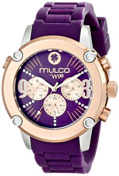 MULCO Women's MW2-28050-056 Analog Display Swiss Quartz Purple Watch >>> Find out more details by clicking the image