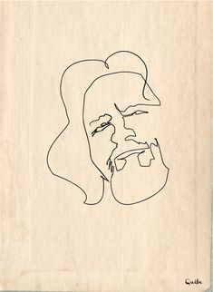 One line Big Lebowski (The Dude) by Quibe