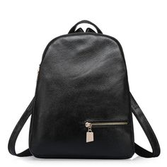 72.02$  Watch here - http://ali30p.worldwells.pw/go.php?t=32713320288 - 2017 Hot Sale Top Layer Genuine Leather Girl Backpack Two Style Japan Korea Ladies Daily Bag Preppy Style Waterproof School Bag 72.02$