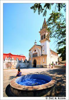 Cathedral de Cuernavaca, Capilla del Carmen, Cuernavaca Centro, Cuernavaca, Morelos_ México