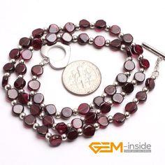 Garnet: · Birthstone of January. · Guardian stone for Scorpio. · Symbol of virginity, honesty, love and truth. Stone Necklace, Pendant Necklace, Garnet Stone, Affordable Jewelry, Scorpio, Birthstones, Bracelets, Necklaces, January
