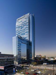 Ritz-Carlton and JW Marriott at L.A. Live, Los Angeles, United States I designed by Gensler  architects