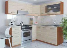 Kuchyňská linka rohová LEON 360 světlý dub Kitchen Cabinets, Projects, Home Decor, Kitchen Cupboards, Log Projects, Homemade Home Decor, Decoration Home, Kitchen Shelves, Interior Decorating