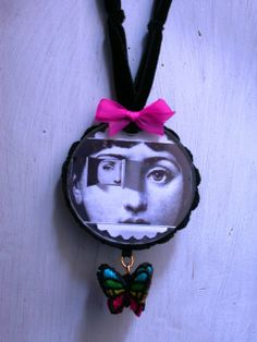 Pink. Hommage a Fornasetti by Adriana Delfino