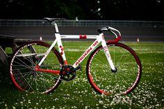 Bike porn (almost)! Argon 18 Track Bike Fixed Gear by Arben Zilci, via Flickr