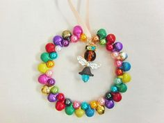 Decoration Christmas Ornament Metal Jingle Bell by OswestryJewels